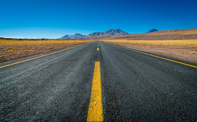 En route vers les volcans de l'Altiplano