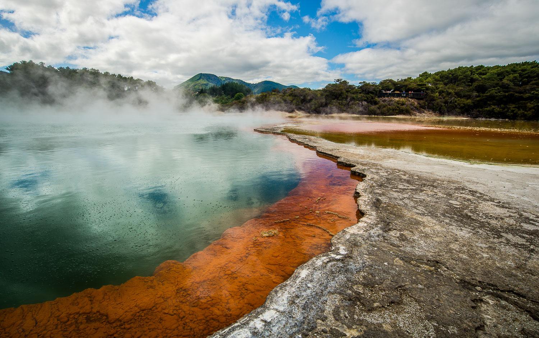 Au Coeur des Geysers de Rotorua - Nouvelle Zélande