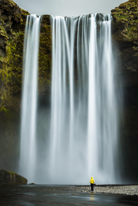 Les chutes de Skogafoss - Islande