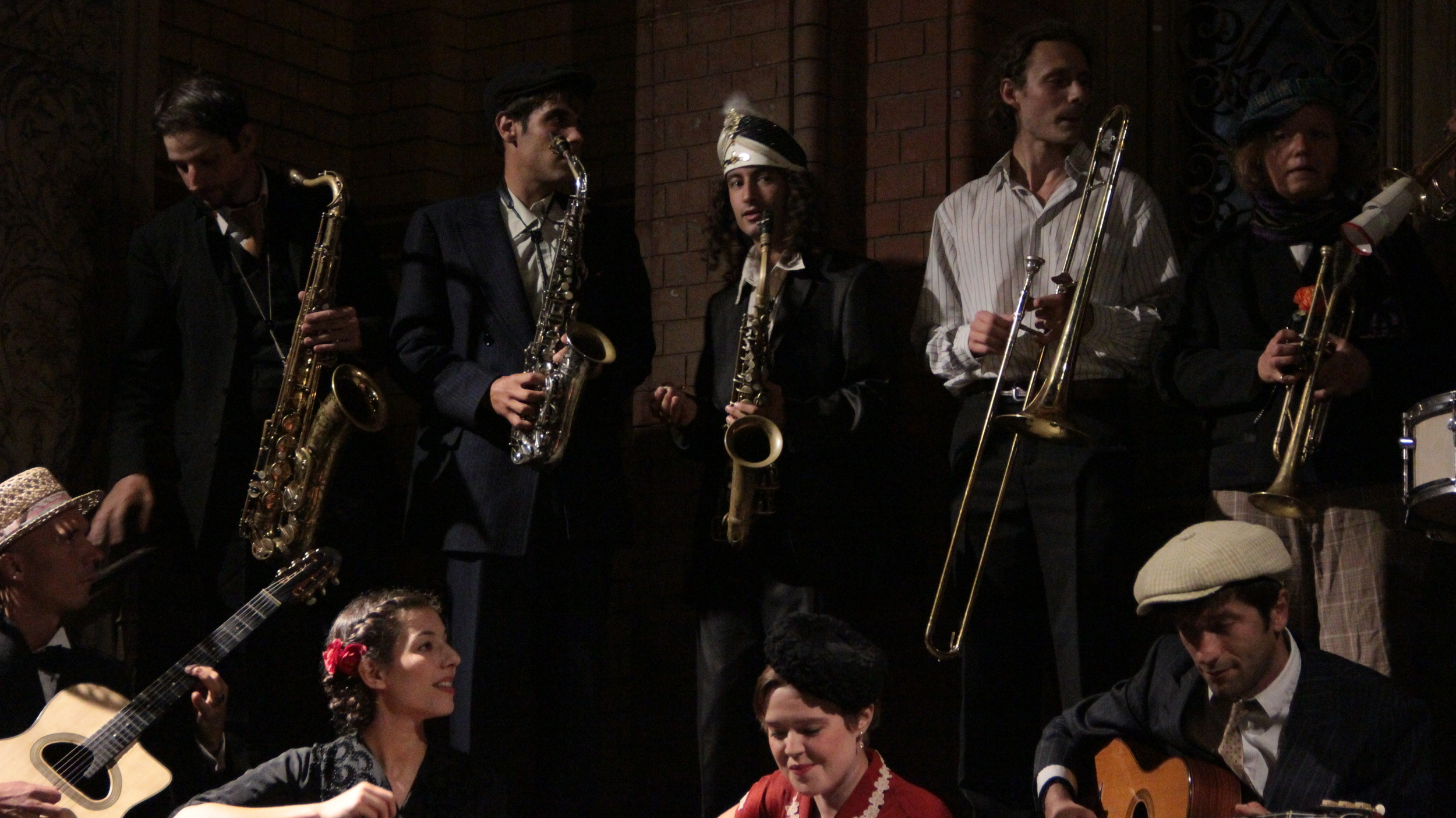 Djanovis Big Band with Tim Brosig, Daniel Duspiwa, Sufi Yan, Anton Wunderlich, Charlene Jean, Toni Tango