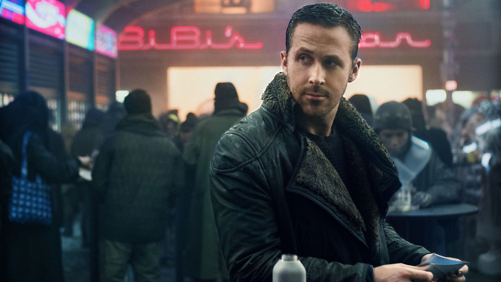 actor ryan gosling as 'k' in blade runner 2049