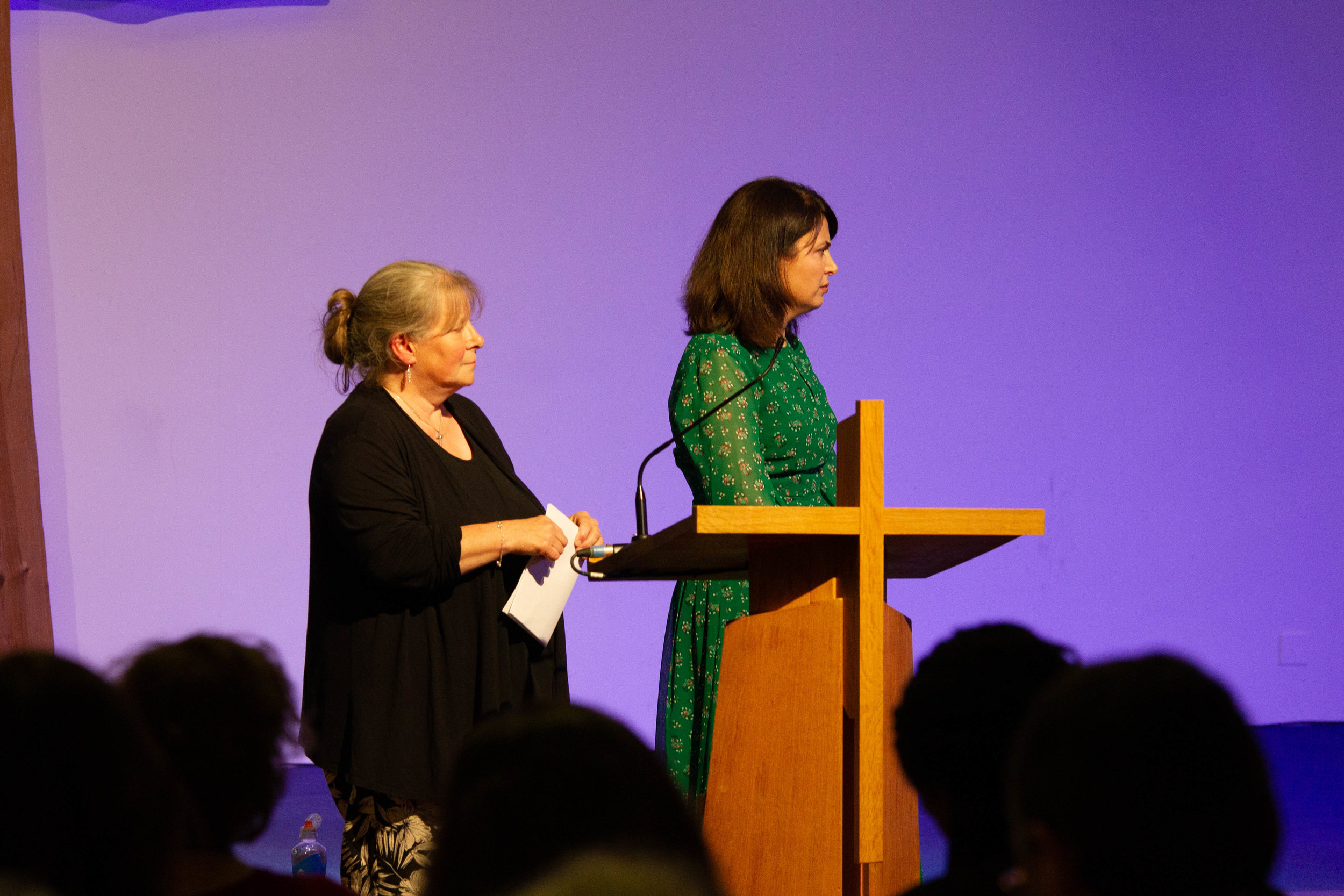 Clare with host for the evening and lwpt ceo amelia gosal