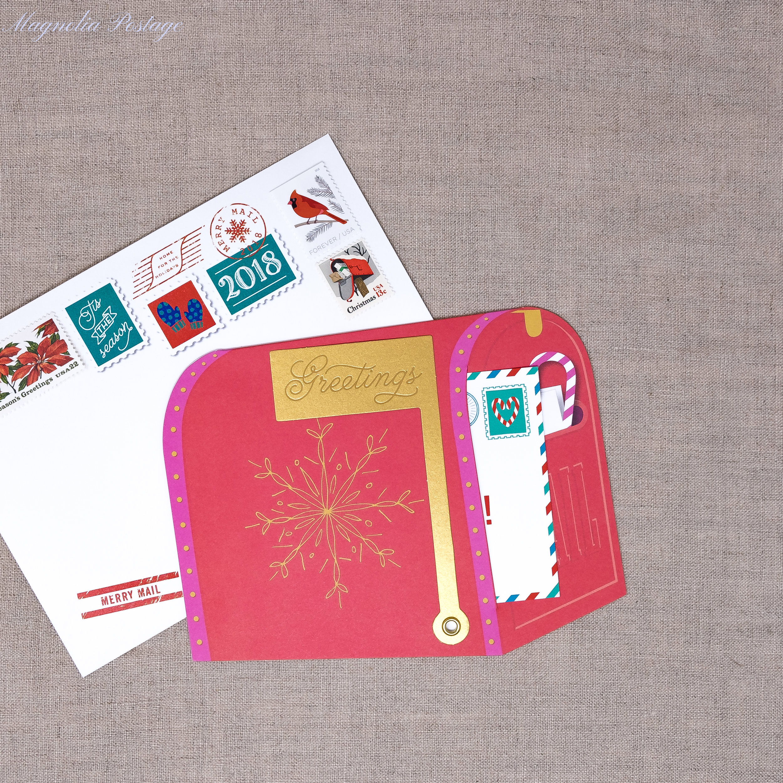 Merry Mail Boxed Card Set