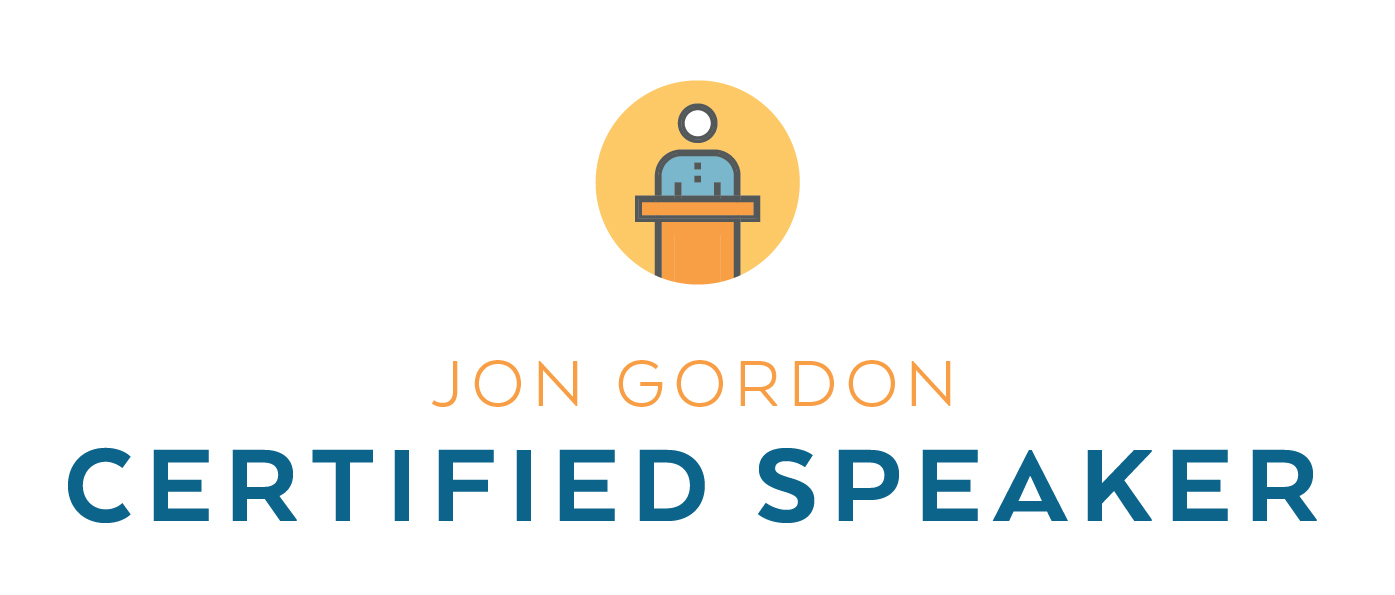 Jon Gordon Certified Speaker