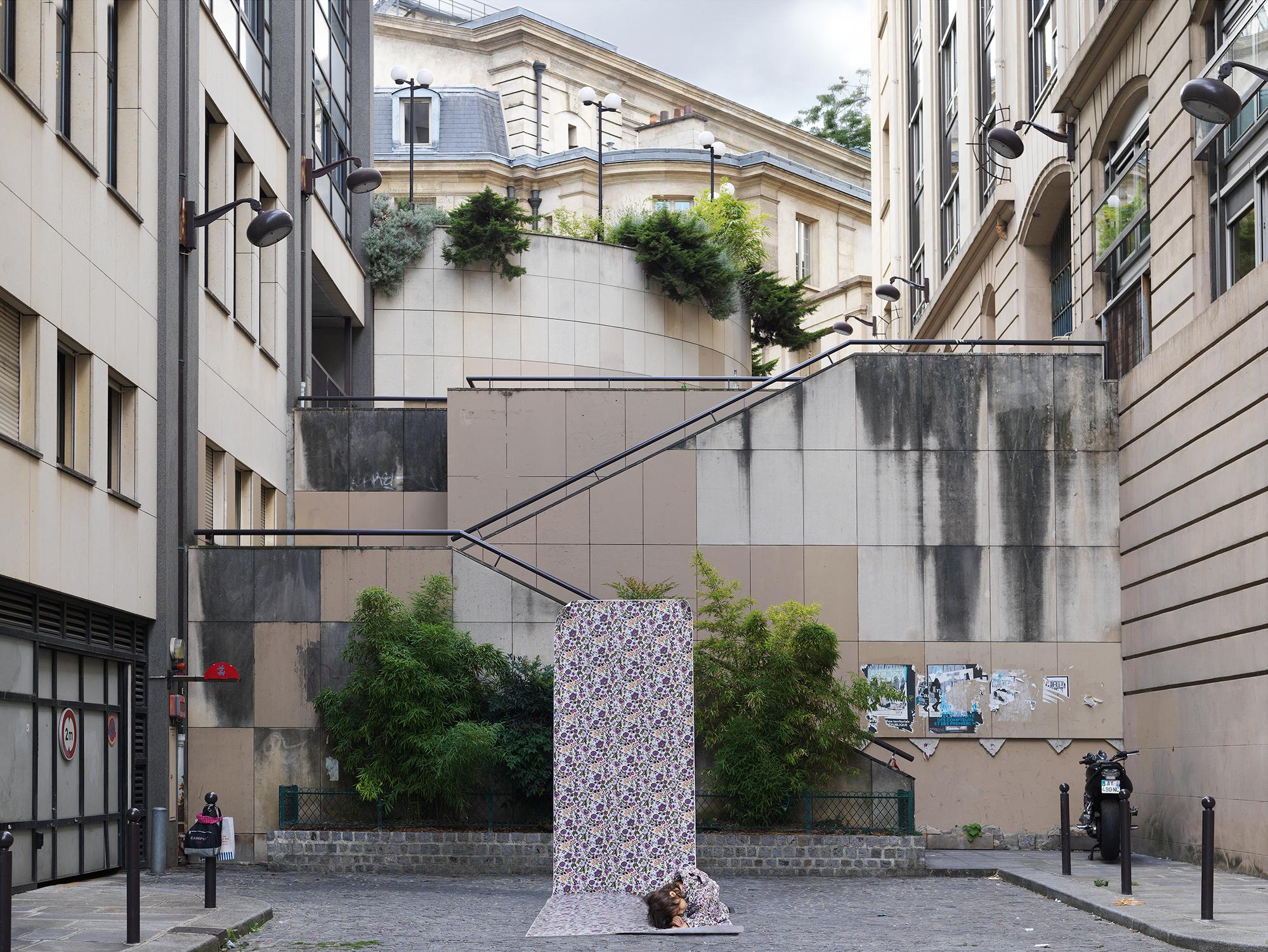Paris,  Street Flower