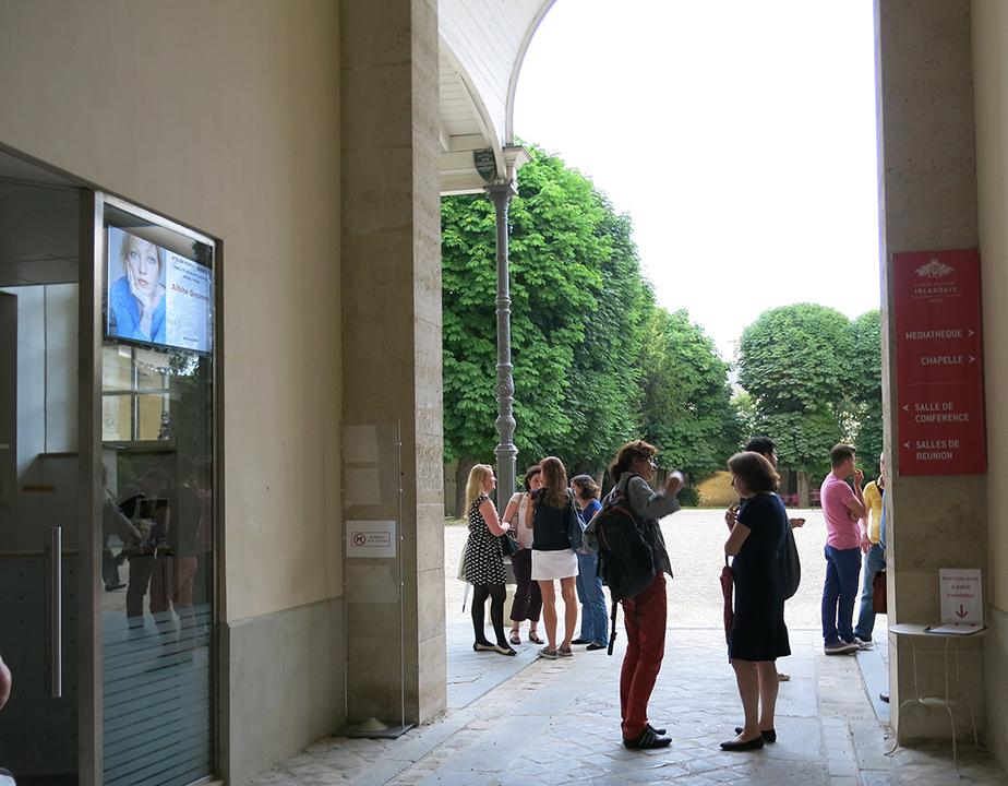 Artist In Residence Open Studio,  2014 Centre Culturel Irlandais, Paris