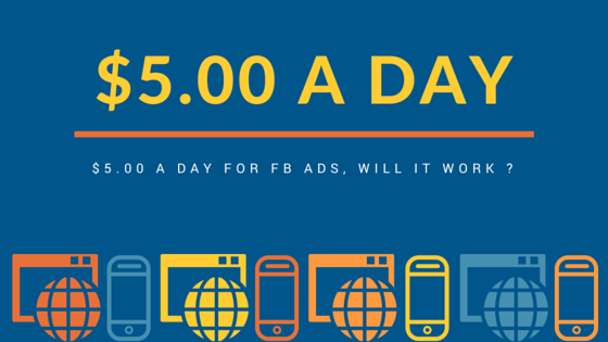 $5.00 a day for my FB ads - Singapore