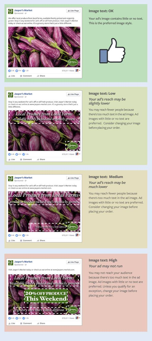 Medium Text Rule for FB ad - Singapore