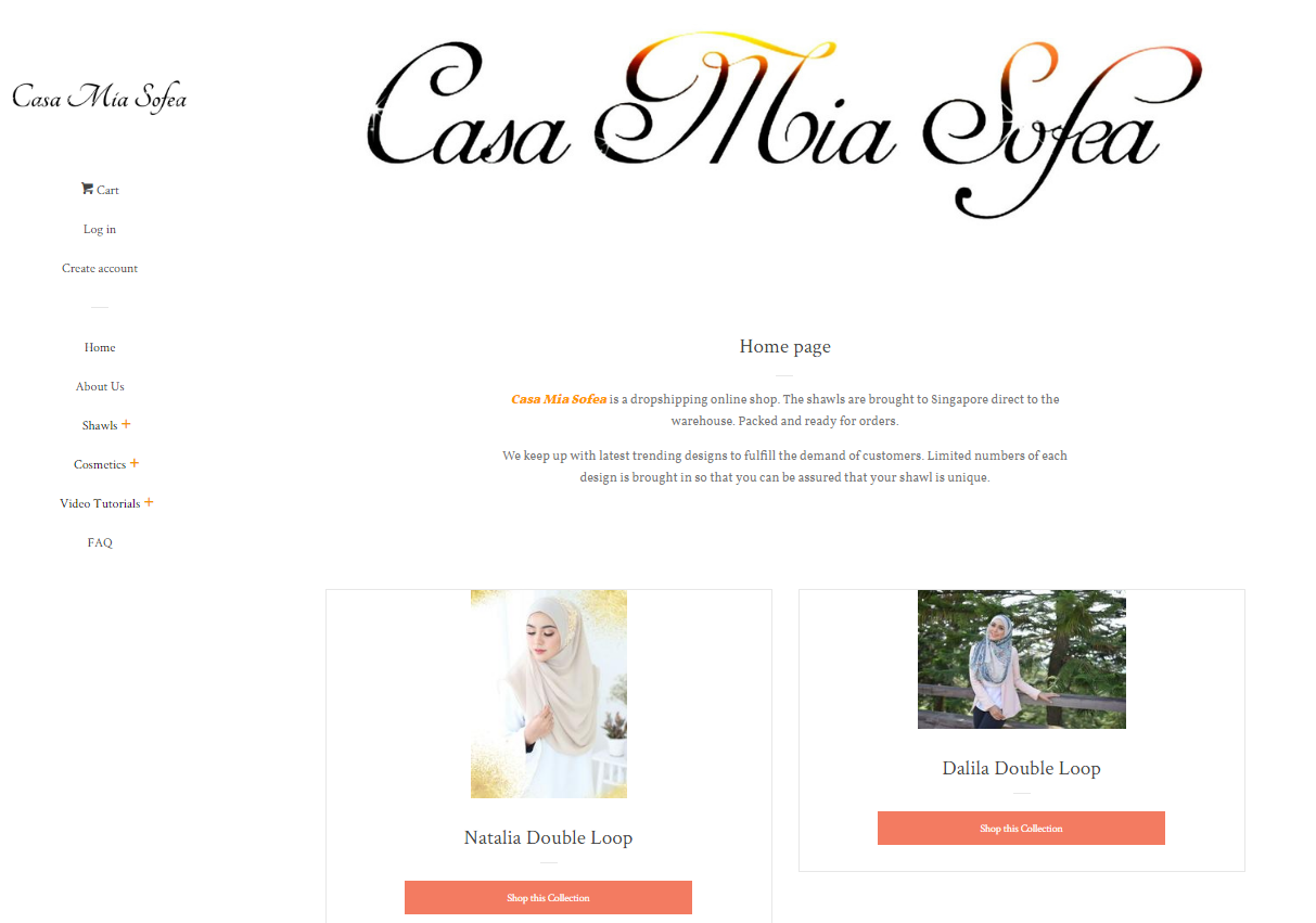 Online shopping for modest muslimah fashion in Singapore