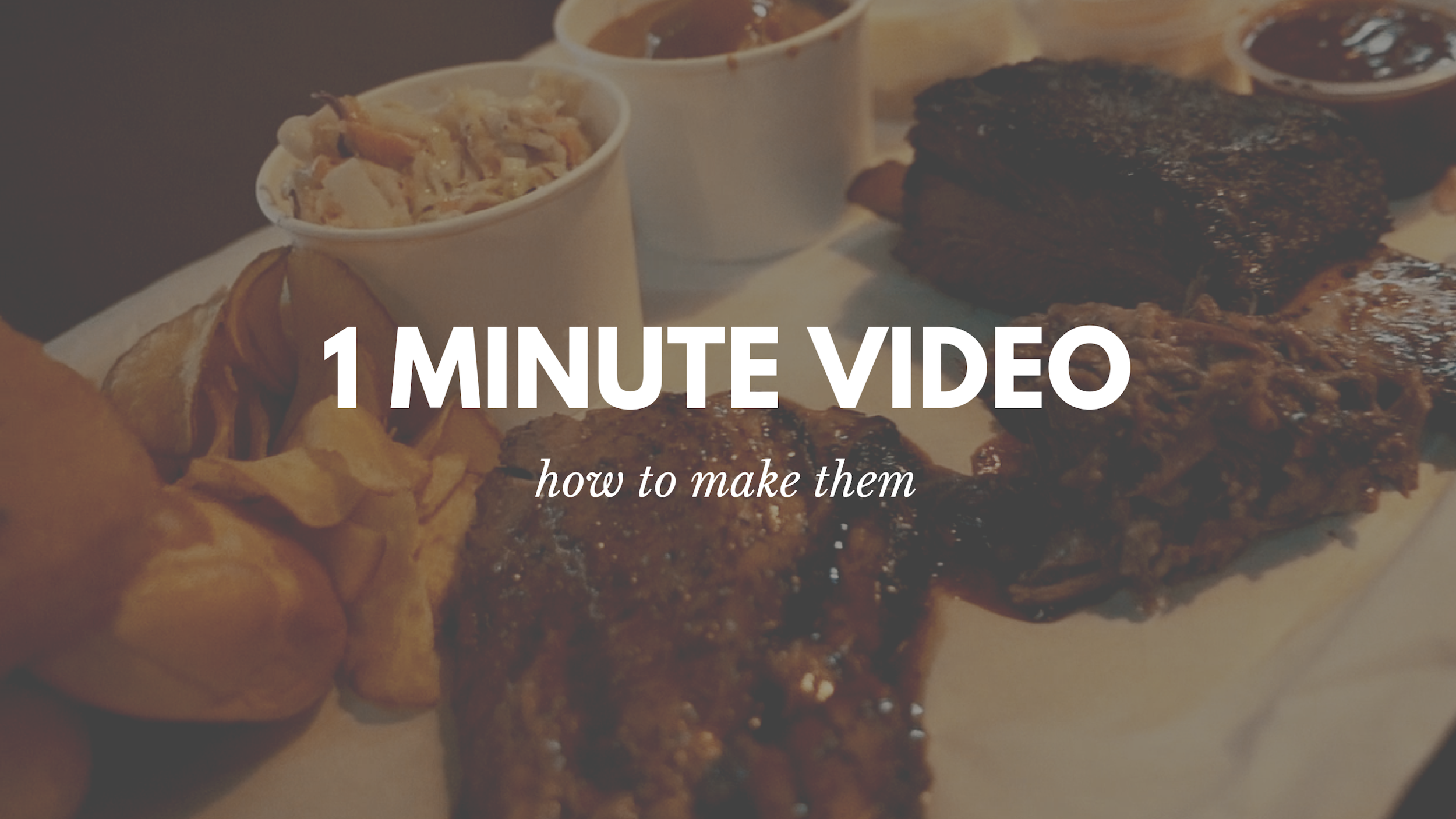 Why 1 Min Video Works For Facebook Ad Singapore