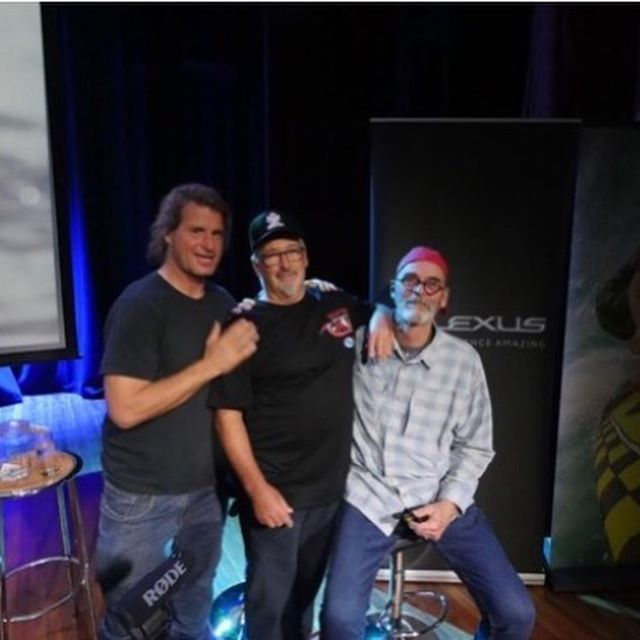 What a Night.  I've always had a connection with surfers in Newcastle going back to the early 70's and it was a real honour for me to do our Talk Story show there last Friday night at the Starlight Room at the West Lambton.  With my good mate and local legend Peter McCabe joining me on stage to share with all some of our experiences from our early Indo adventures and for the second half joining me Mark Occhilupo sharing our stories from Green Iguana, The Challenge and Occumentary days leaving one and all laughing in the isles.  For me personally it was one of the highlights of the tour and left me buzzing still three days later.  Thank you Newcastle and all of our other shows on the tour for turning out in mass and sharing the oral history and stoke of the art of surfing together.  I am truly humbled by the reaction and hopefully we can do this again sometime soon.  From Robert, Sasha, Kelly and I we thank you from the bottom of our hearts with Aloha to all.  Special Thanks to:  @lexusaustralia #ExperienceAmazing @patagonia @patagoniaaus @gopro @goproanz #gopro #goproanz @perfectwavetravel @vividsydney @mca_australia @landandseabrewery @byronsurfflicks @fletcherpilon @petermccabesurfboards @markocchilupo @mark__visser @waynelynchsurfboards @daverasta @belindabaggs @joelparko @craig__anderson @kaineville @greenroomsurfmovies #jackmccoy #talkstory #jackmccoytalkstory