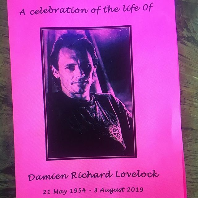 Celebration of the life of one of the worlds great characters I've had the stoke to cross paths with in this life. Yoga teacher, Soccer expert, Musician, Waterman, Damien Lovelock Saturday Aug 24 2pm Newport Surf Club for Paddle Out followed by a gathering in the club house of all who wish to pay their respects. Plez spread the word