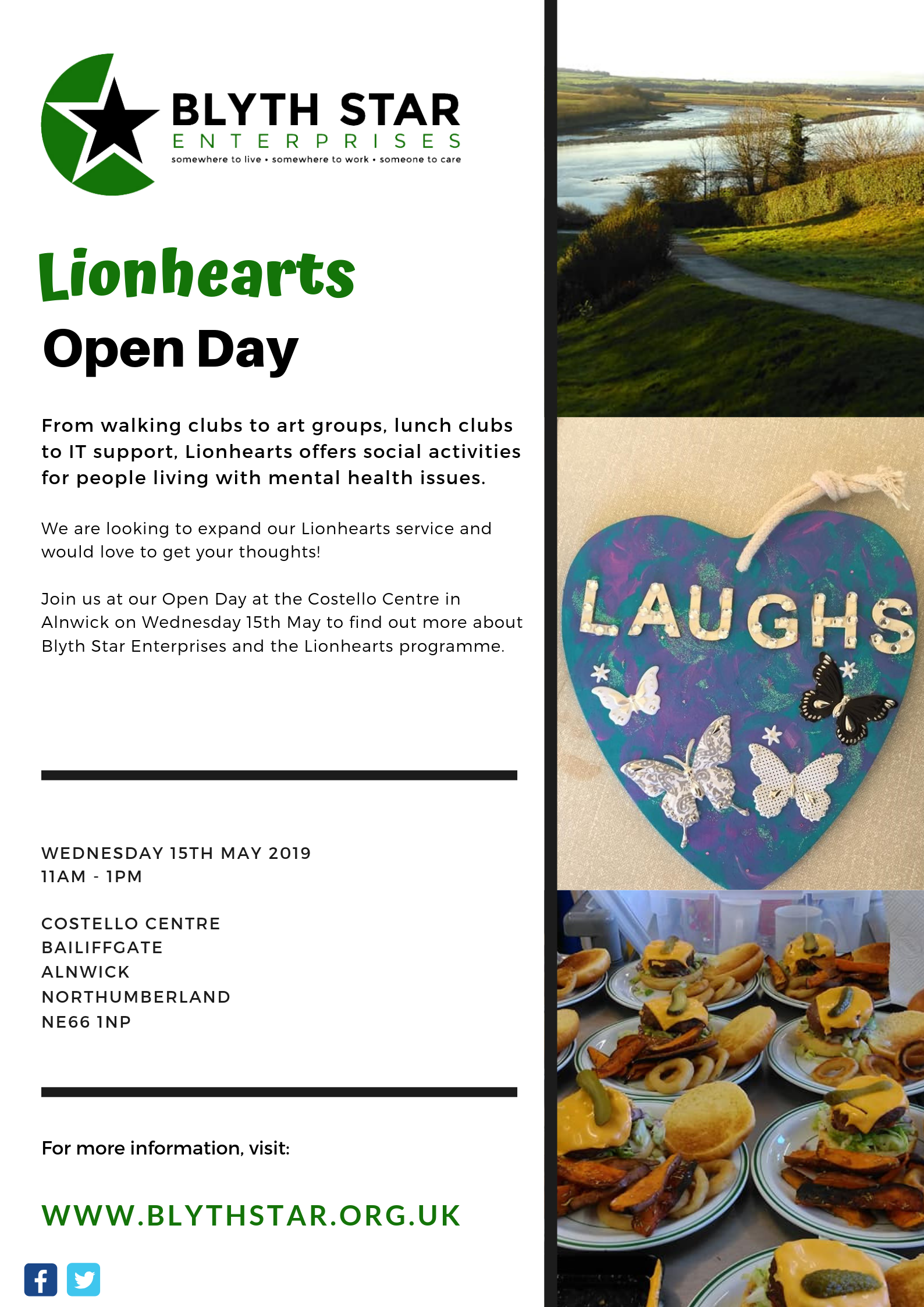 Lionhearts Alnwick open day.png