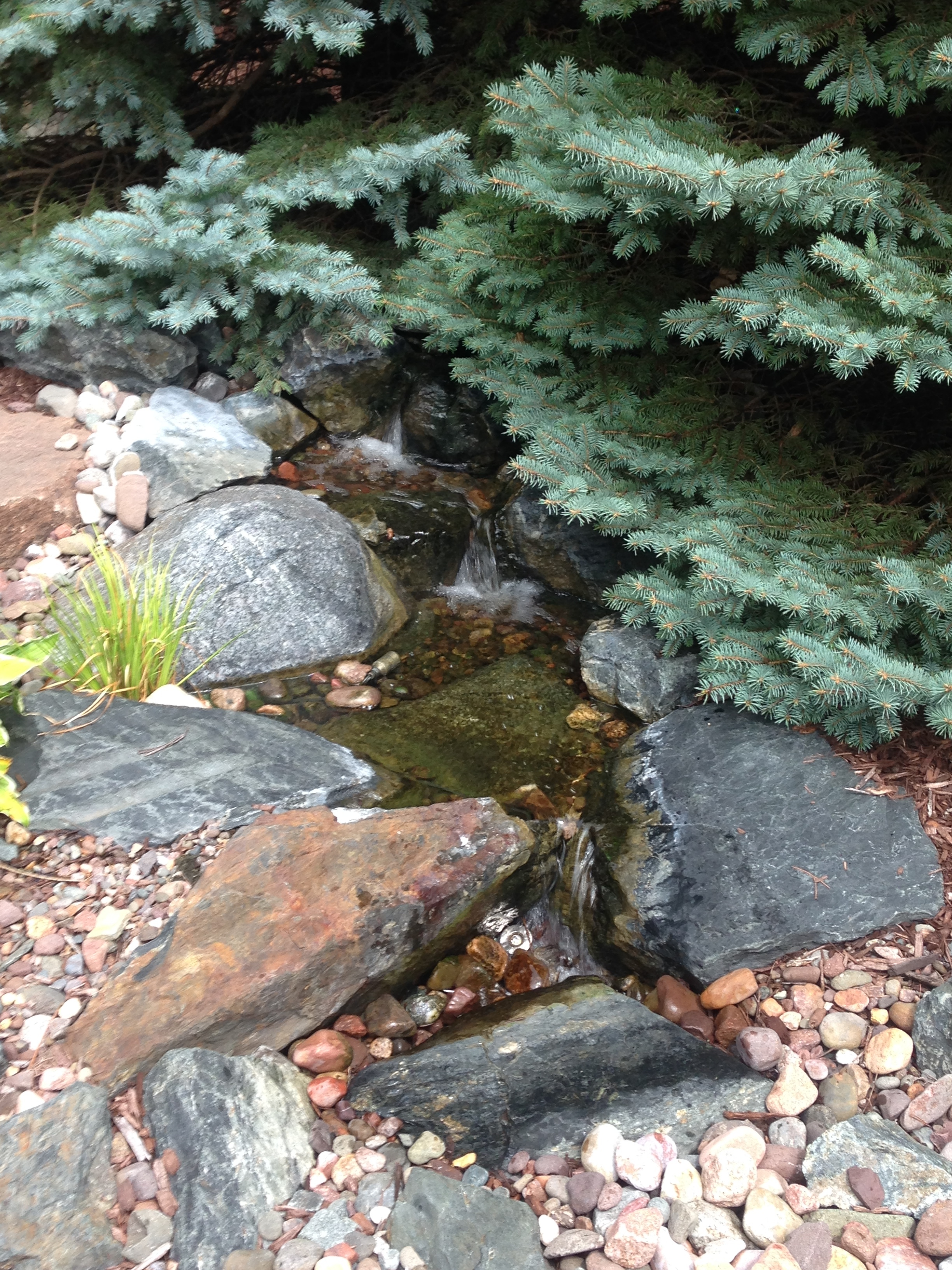 Small Disappearing Waterfall