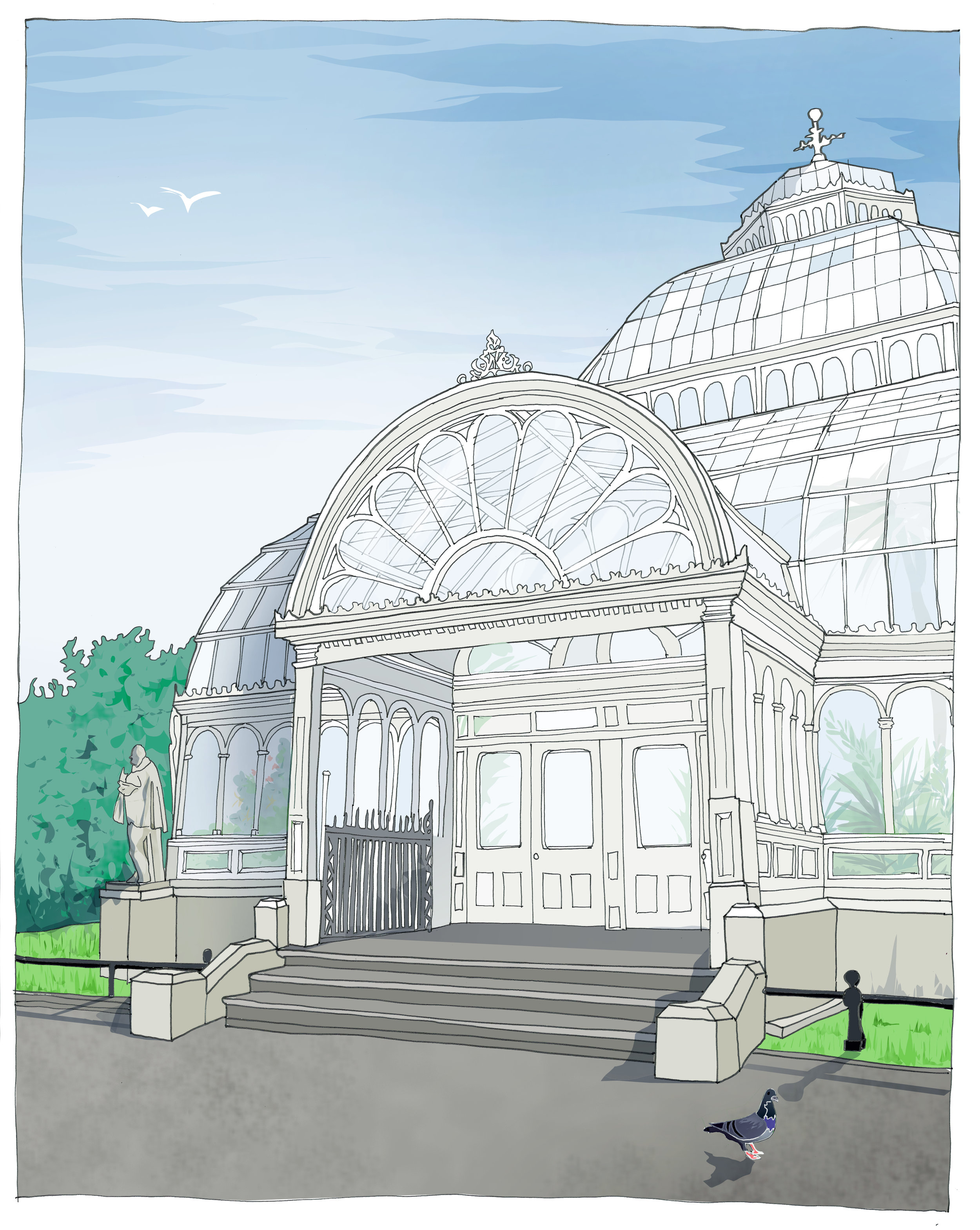 Palm House - Sefton Park, Liverpool