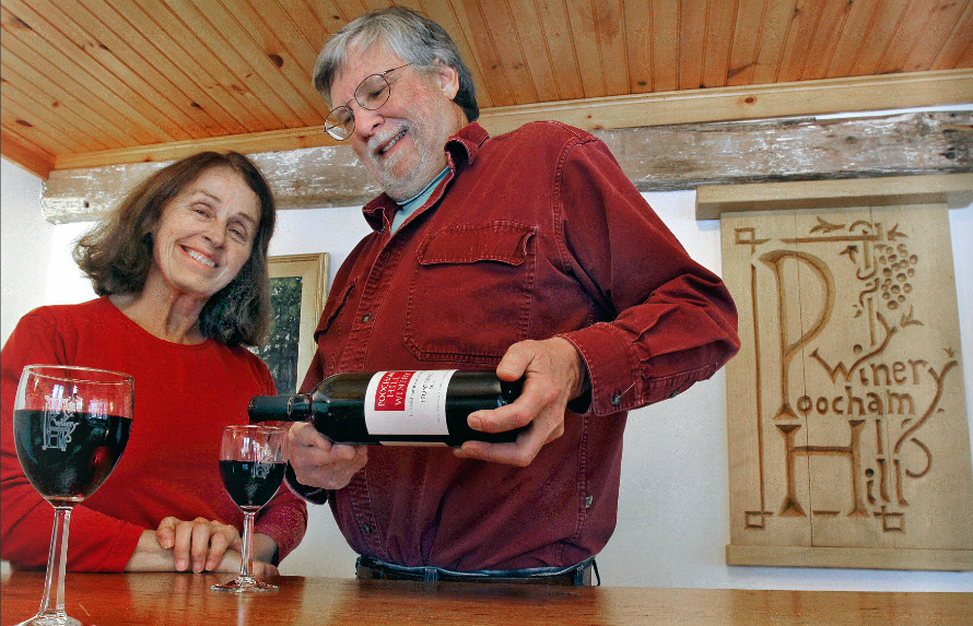 Mame and Steve welcome you to their winery to sample their wines and tour the vineyard.