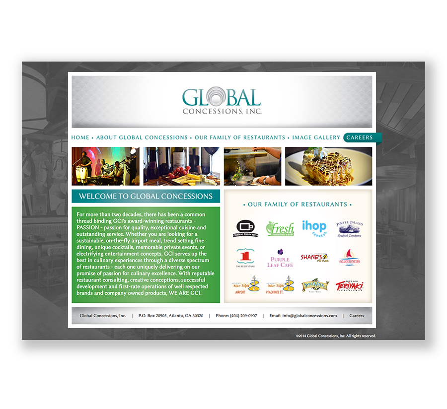 Global Concessions Website