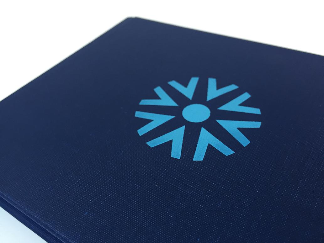 Copy of Vision Hospitality True Blue Book Brand logo application