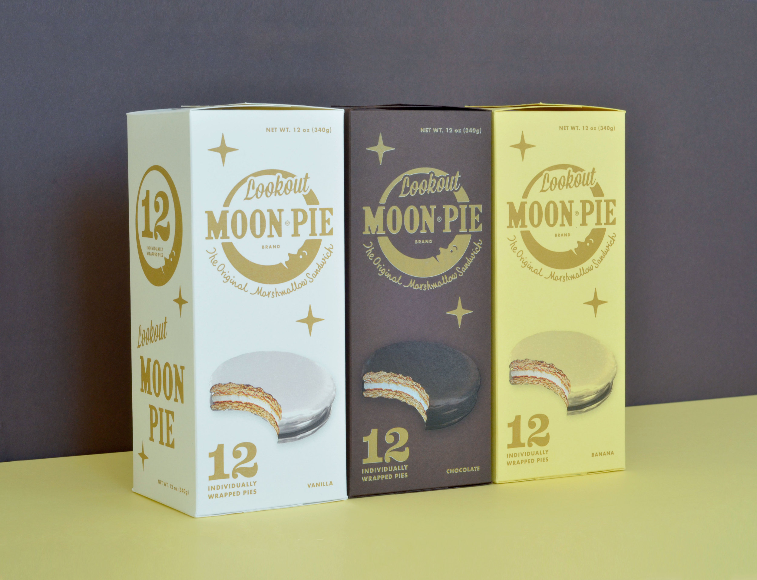 Moon Pie Packaging Design for Original Recipe