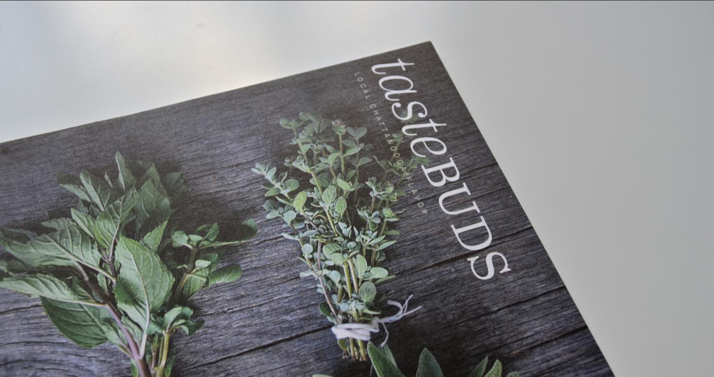 Tastebuds Magazine Layout Publication Design