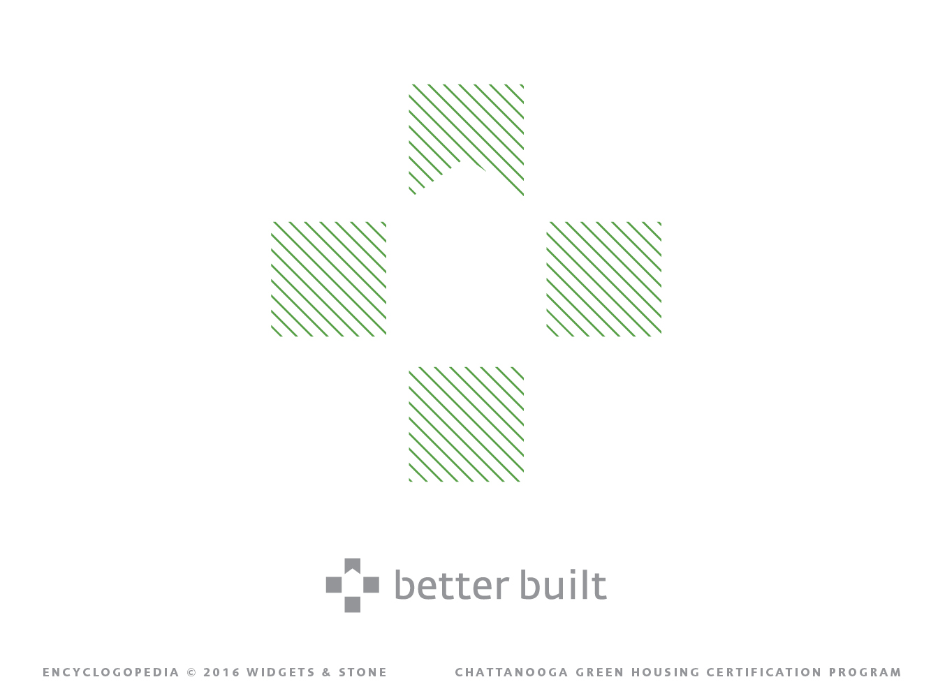 Copy of Better Built logo mark brand design
