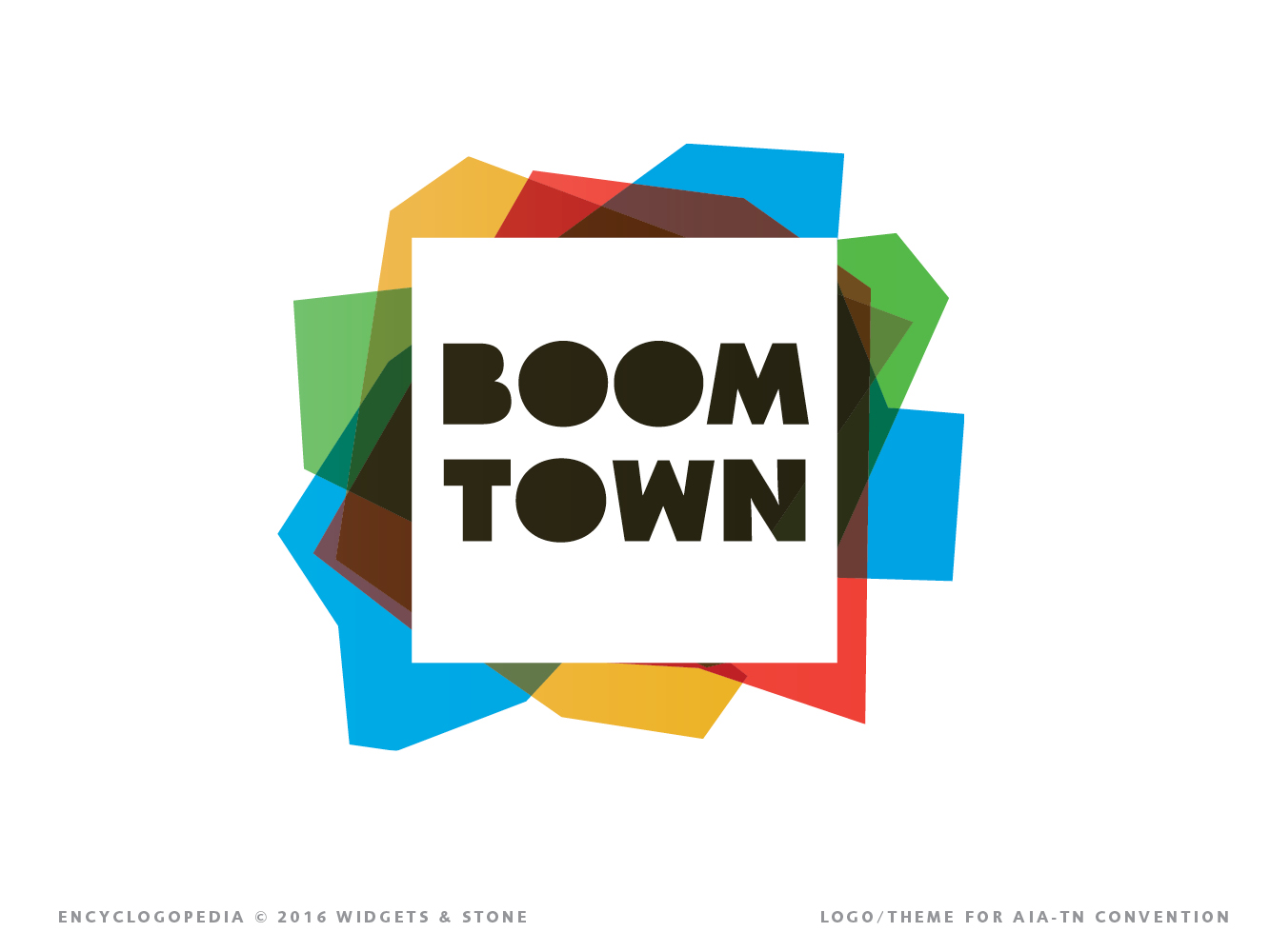 Copy of Boom Town brand concept logo