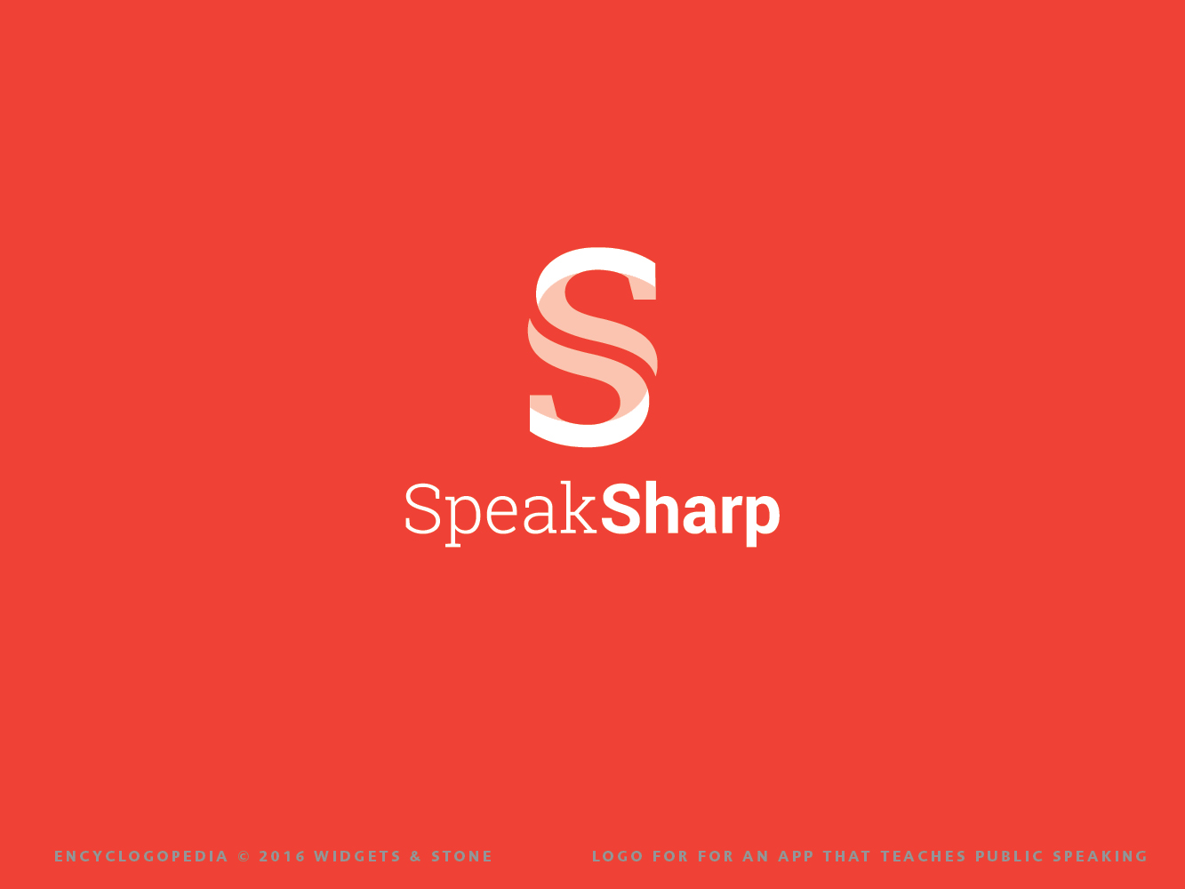Copy of Speak Sharp Graphic Design for Logo