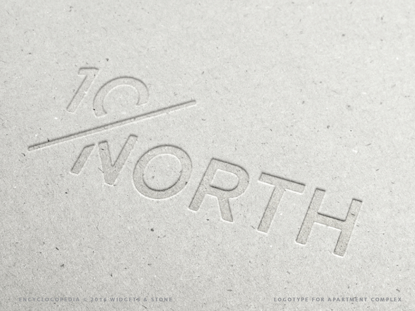 Copy of 10 North logo design