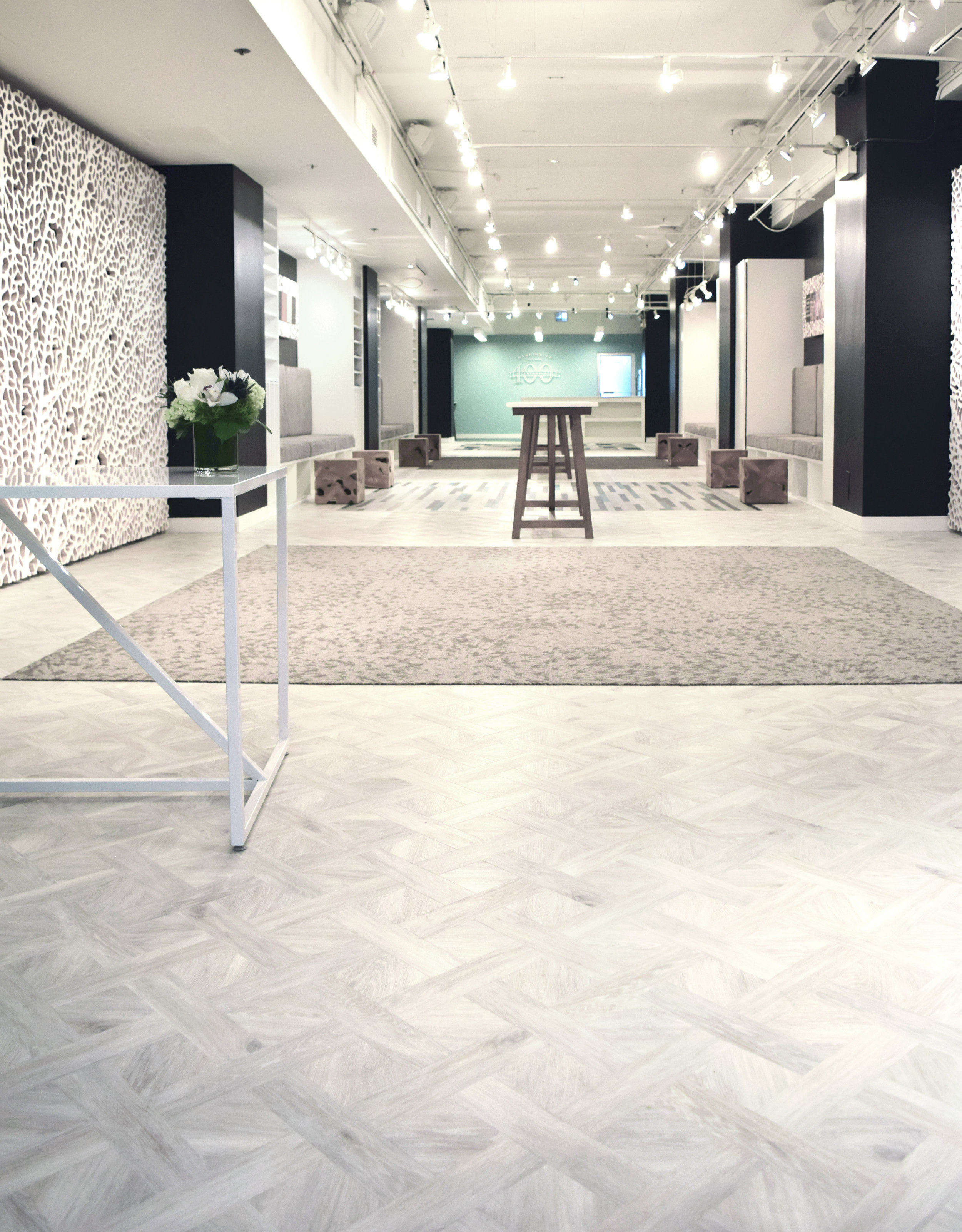 Neocon 2016 Mannington Commercial Showroom Environmental Design Flooring