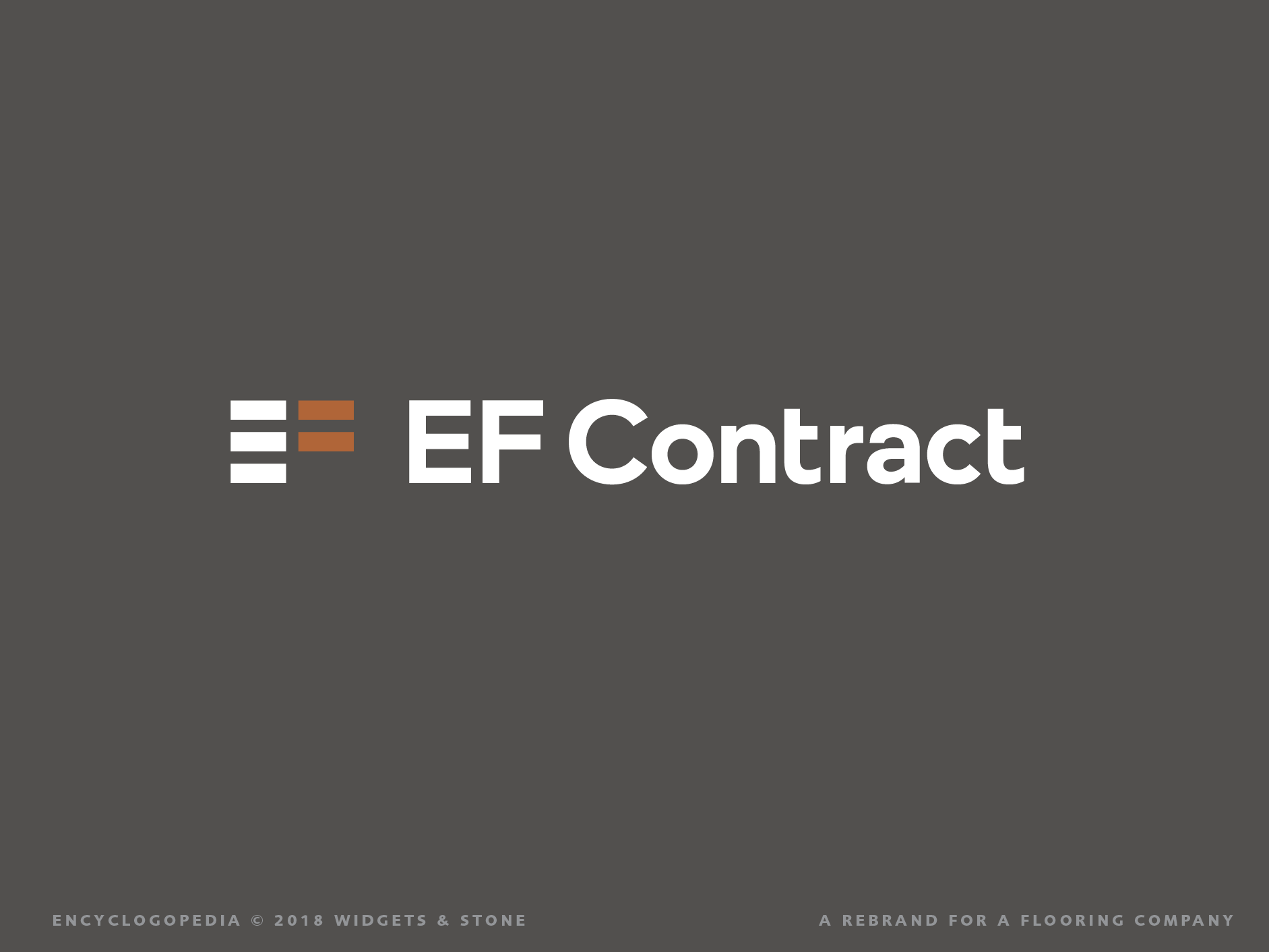EF Contract Branding and Logo Graphic Design