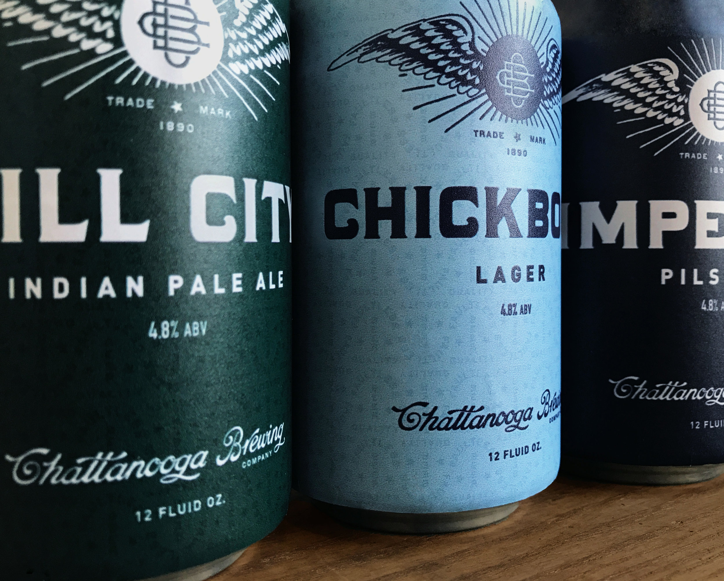 Chattanooga Branding Co. Beer Can Design