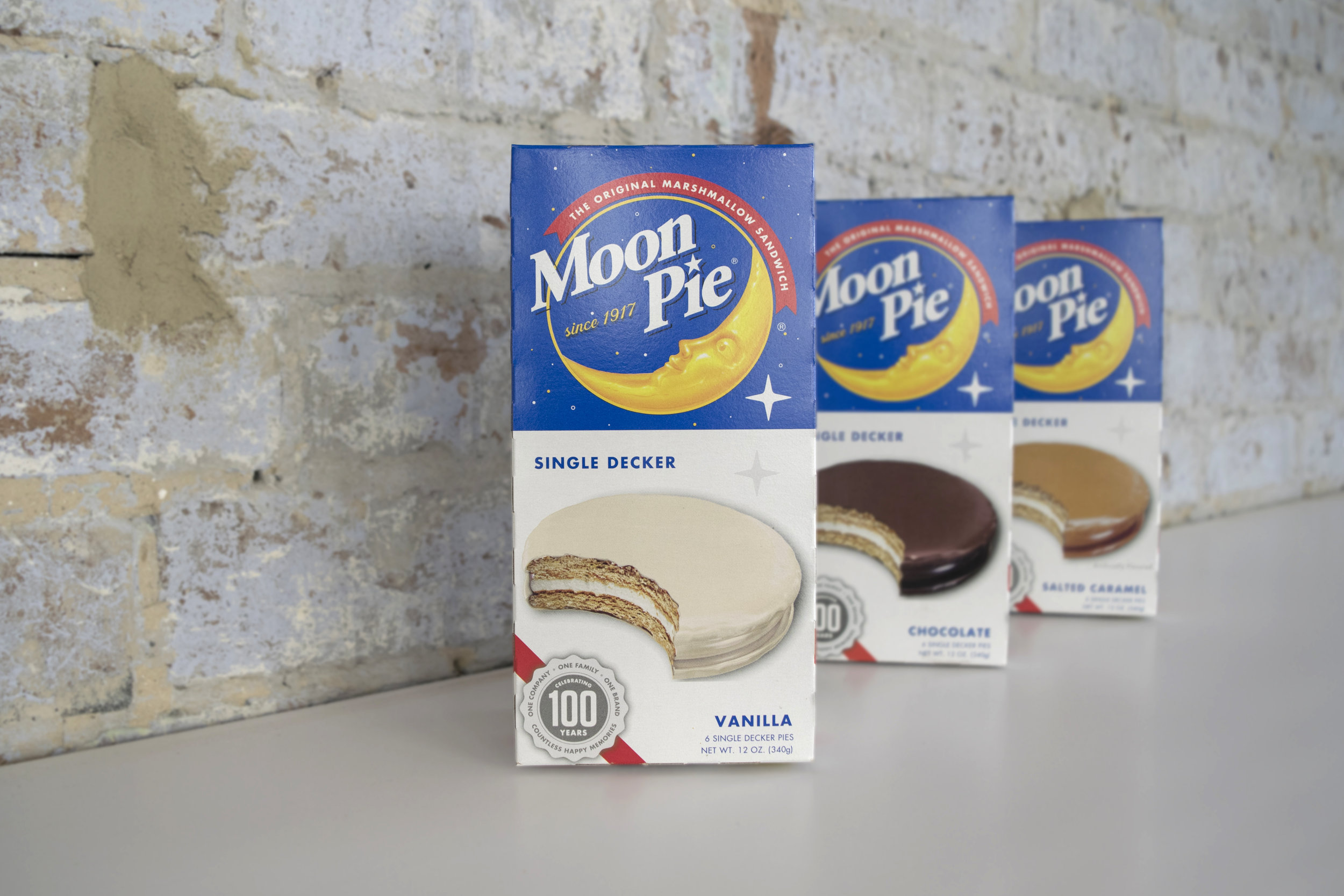 Moon Pie Brand Refresh Packaging Logo Design