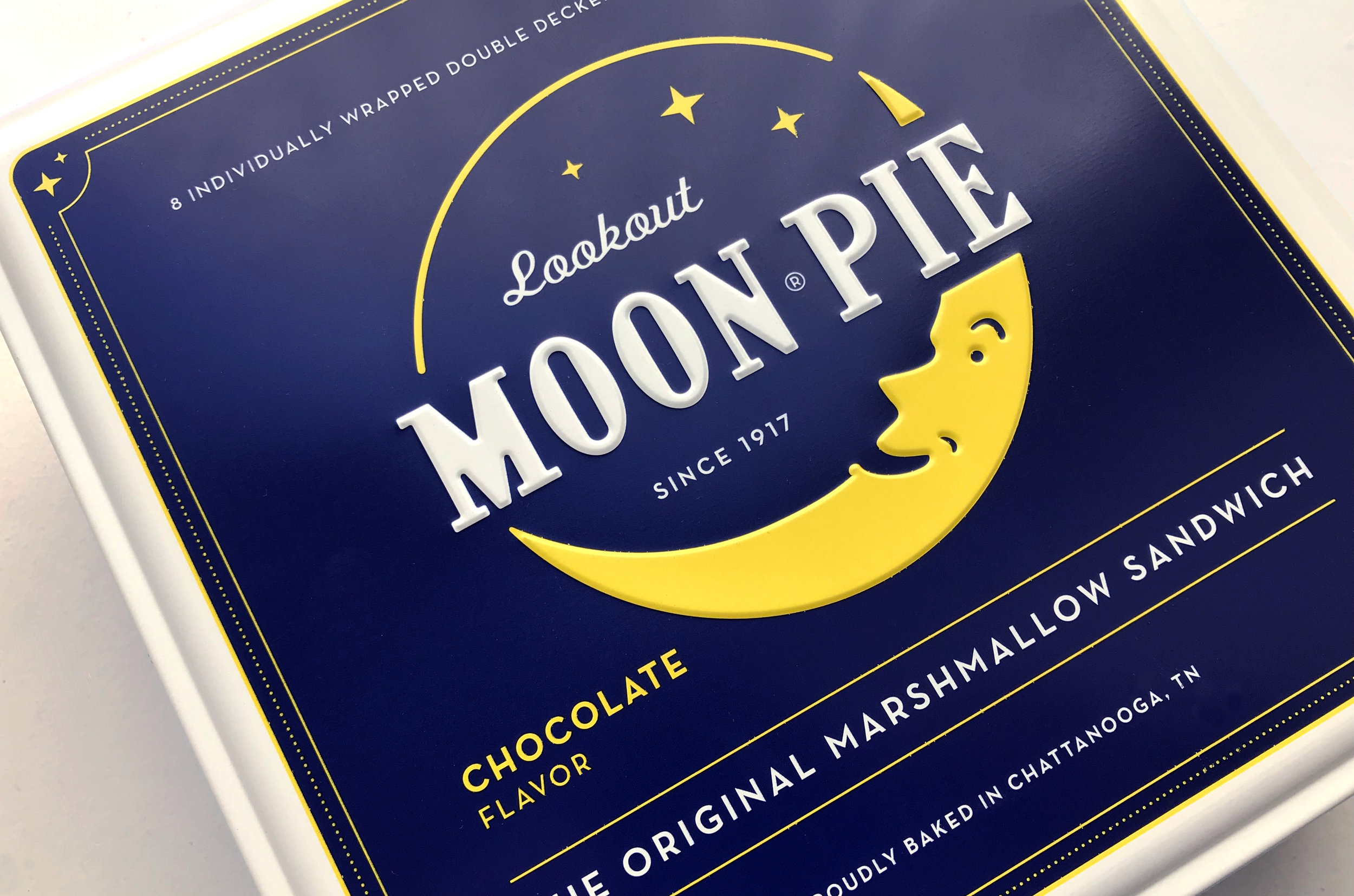 Lookout Moon Pie Logo Refresh Detail Photo