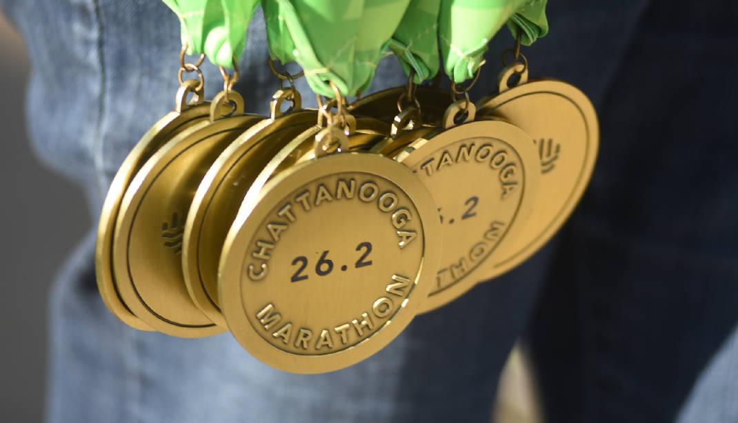 Chattanooga Marathon 2017 Medal Design