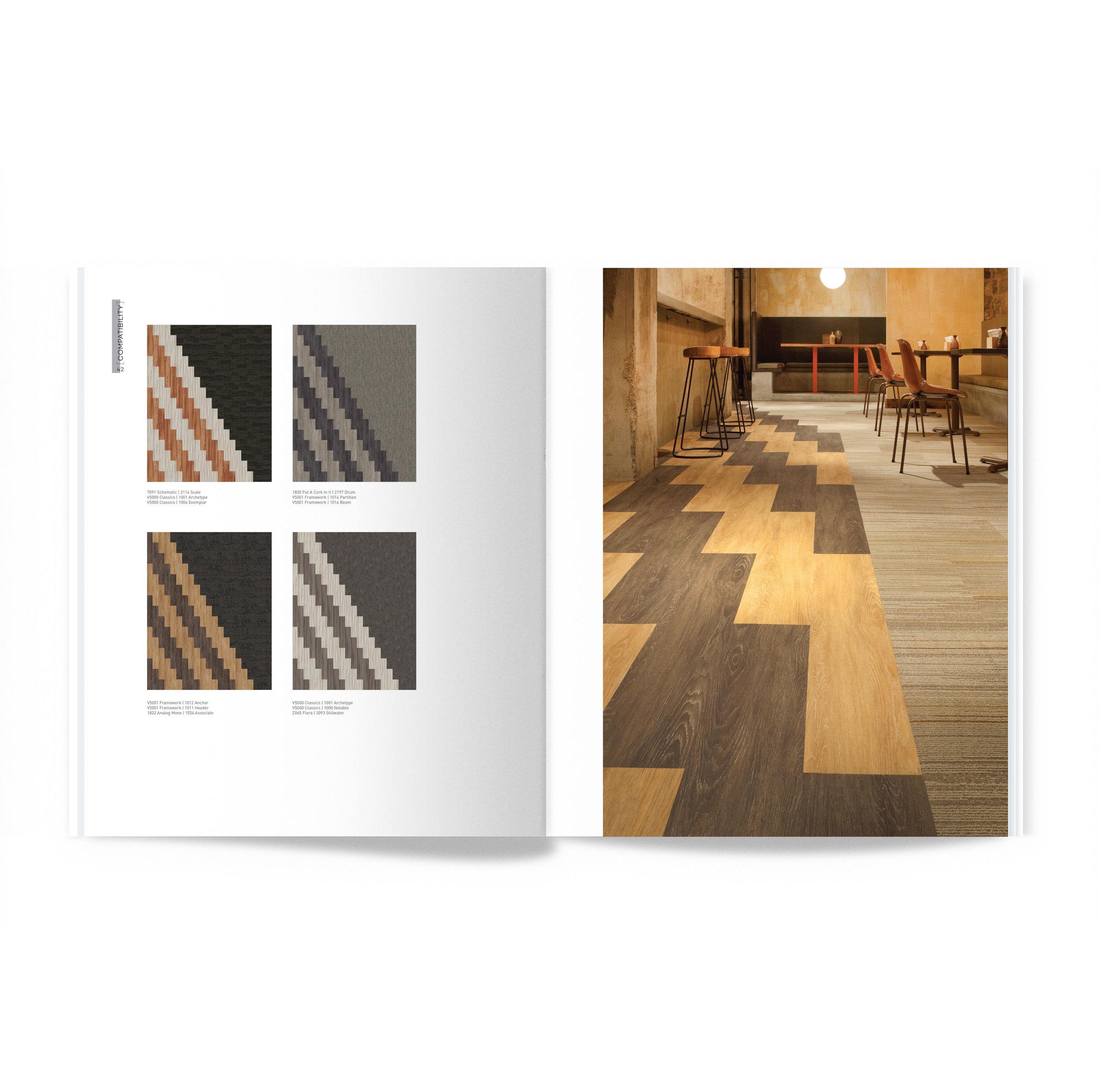 Shift Vol. 3 J+J Flooring spread images publication layout