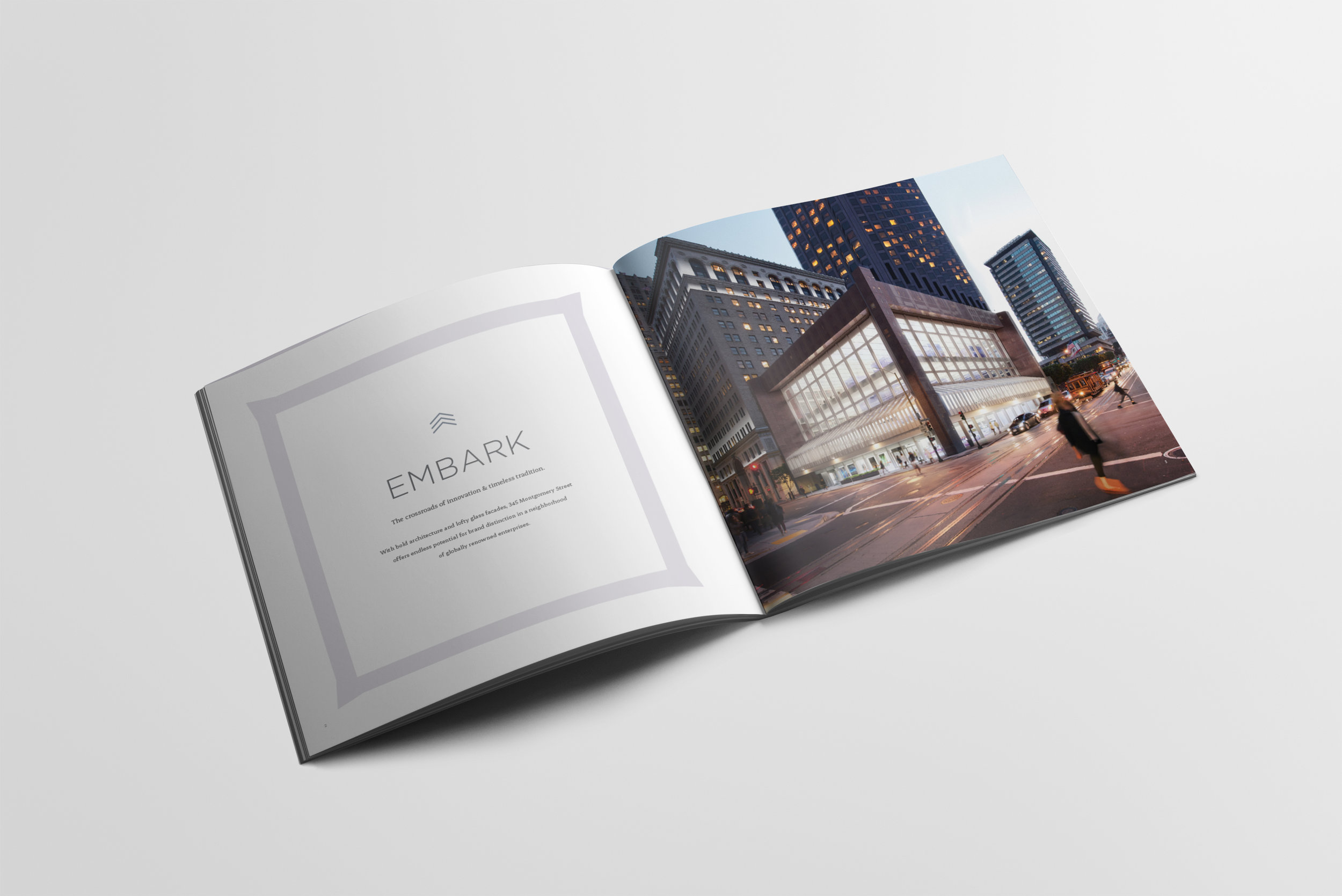 Vornado, 324 Montgomery, print book design