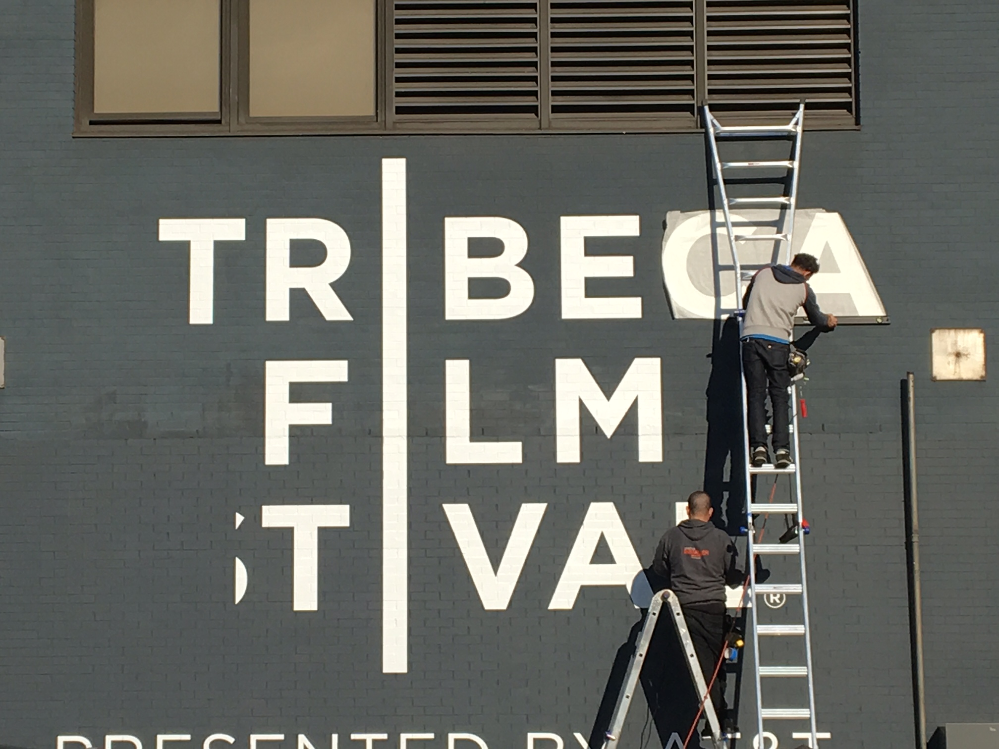 Tribeca Film Festival, Large Format, Print, Installation