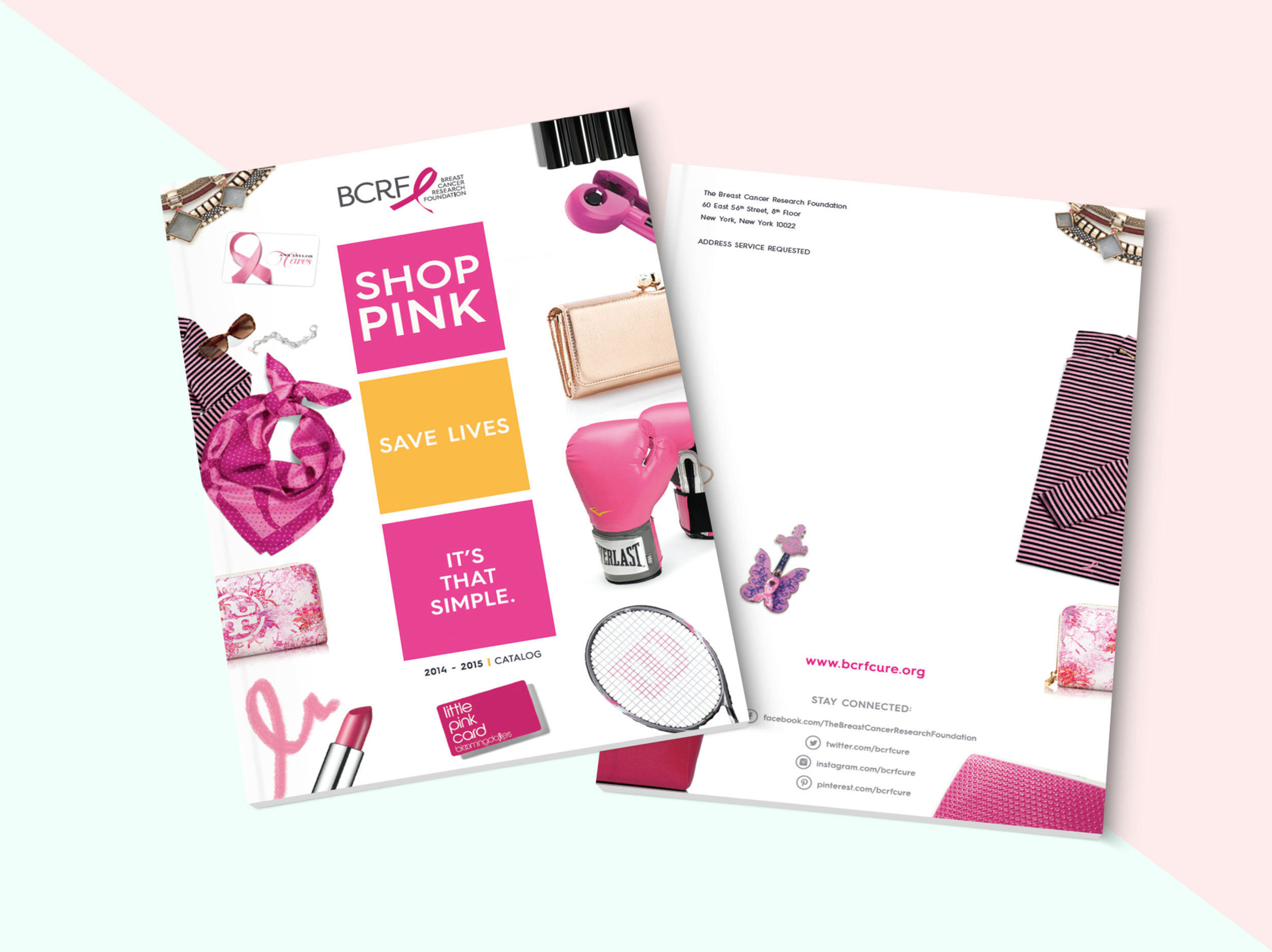 Breast Cancer Research Foundation / Design / Print /Production