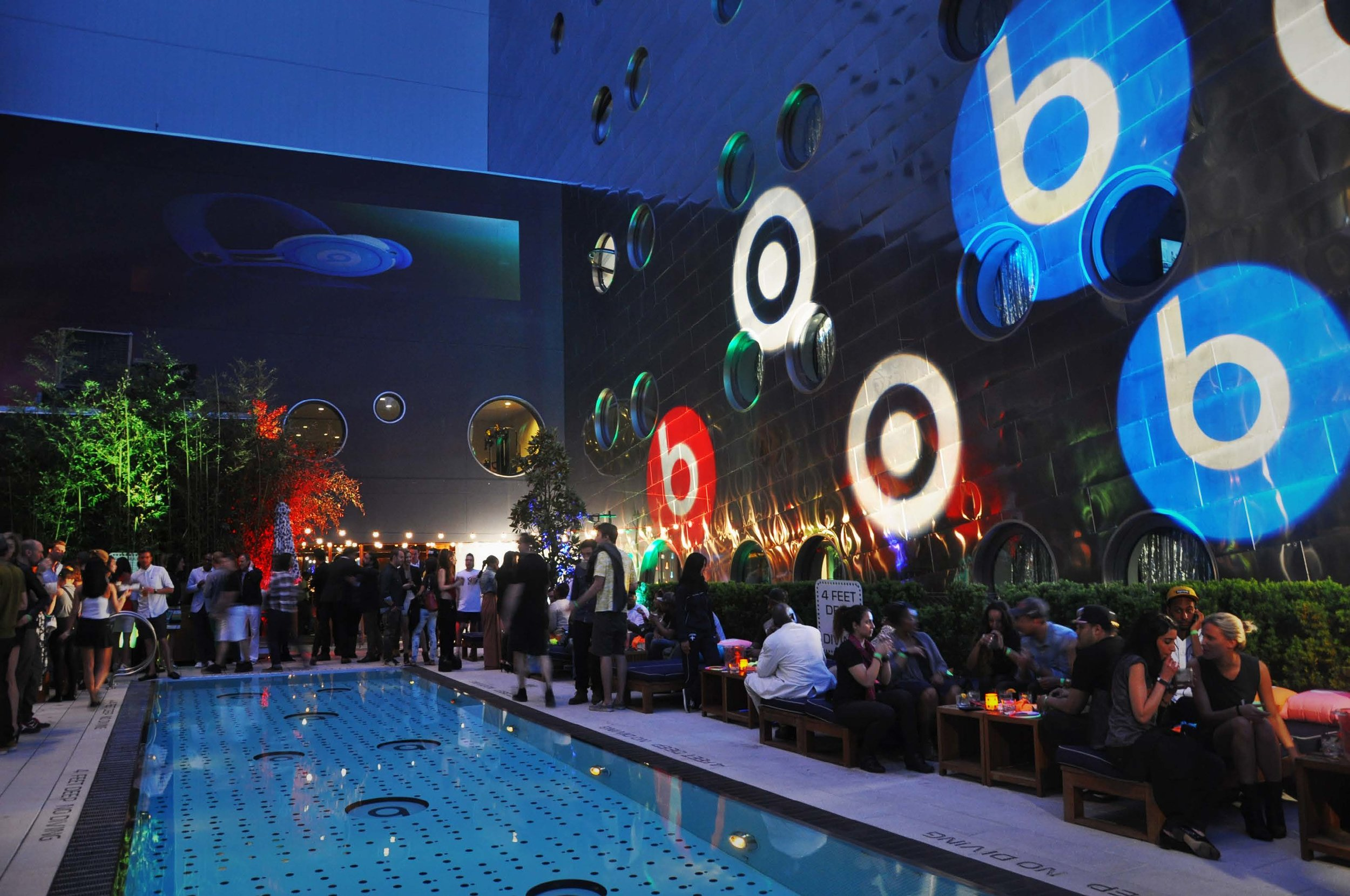 Beats by Dr Dre / Event Production, Installation
