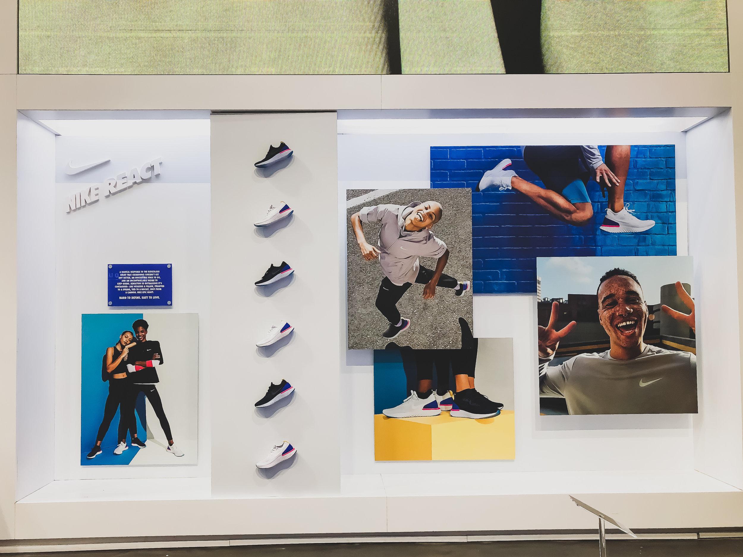 Nike React / Footlocker / Times Square
