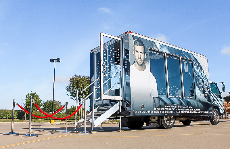 Calvin Harris Promotional Vehicle