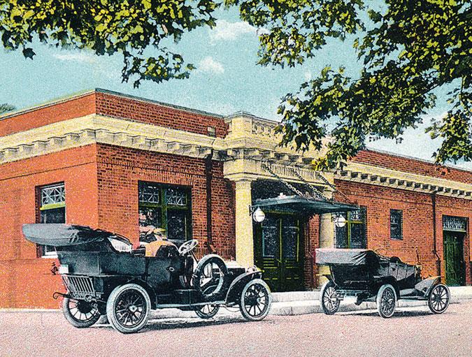 Falmouth Station, 1913 (1)