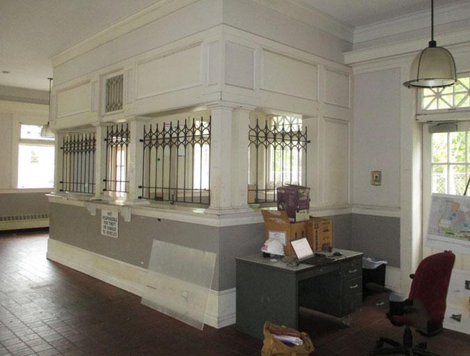 Falmouth Station Interior, 2016