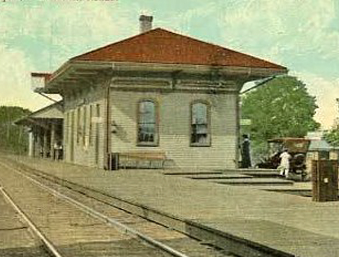 Falmouth Station, c1880  (1)