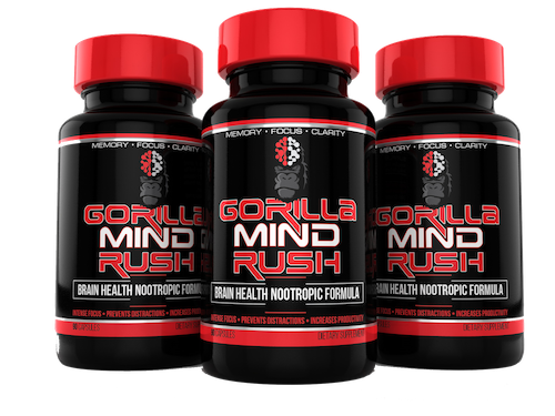 Gorilla Mind Rush is THE BEST supplement for productivity, energy, and focus I have ever tried. Period.