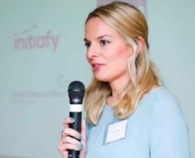 Julie Currid , Co-founder of Initiafy and LEAP'16