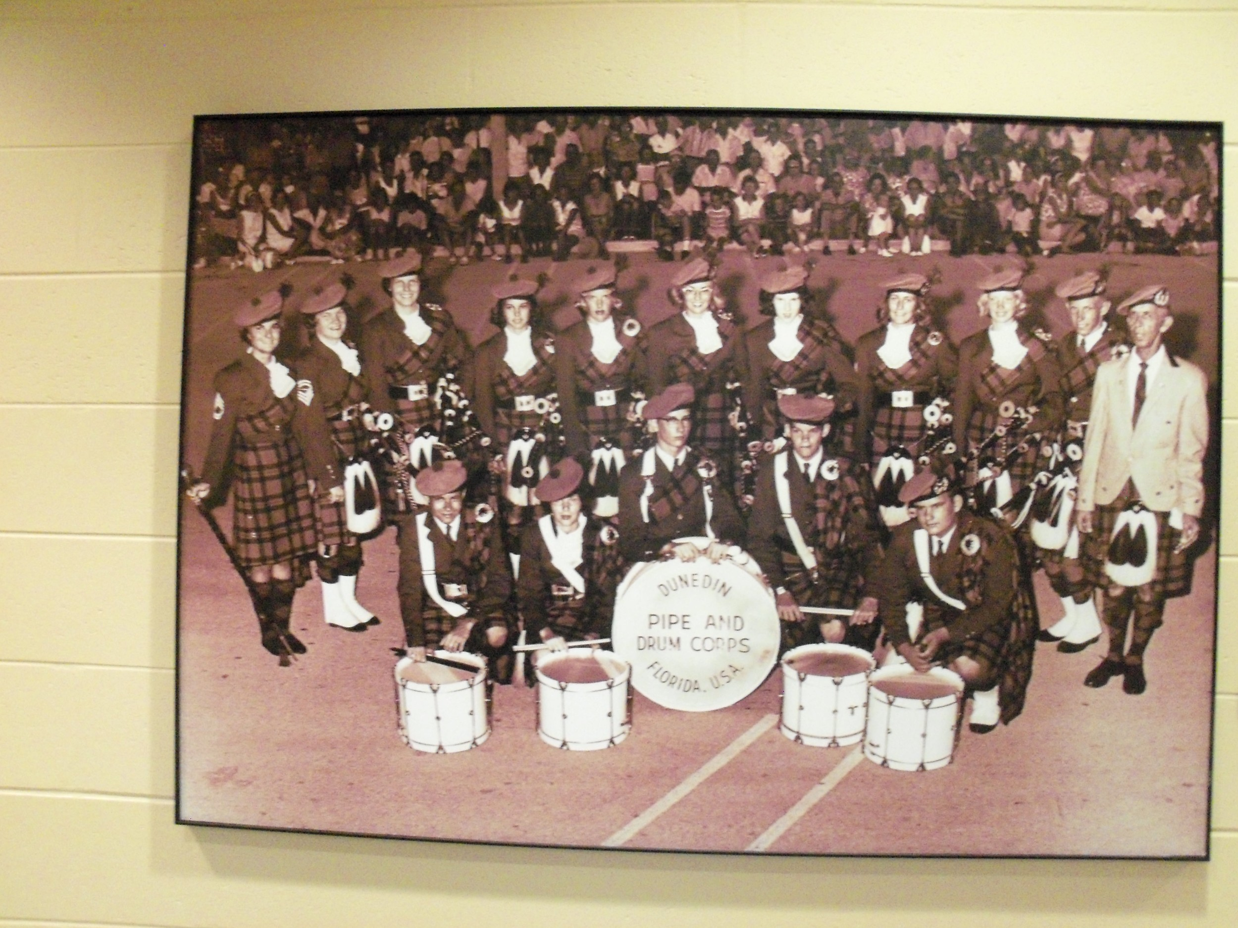 Matt Forsyth and the Pipe and Drum Band.JPG