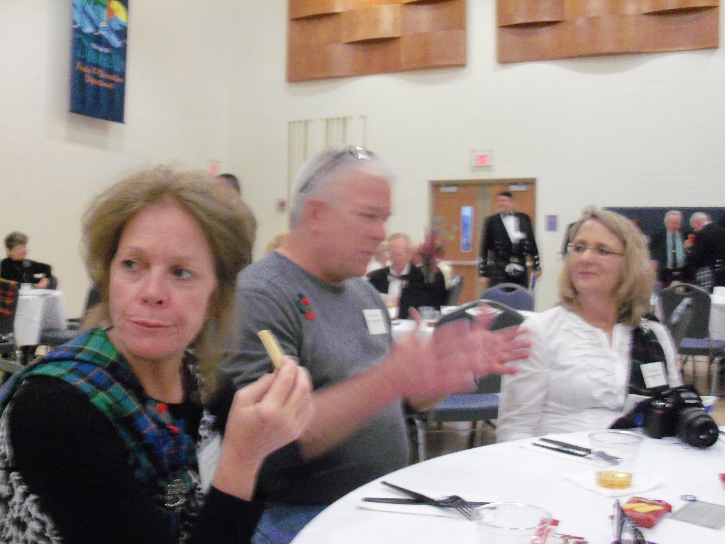 Tartan Reception, Lori, John and Katchy.JPG