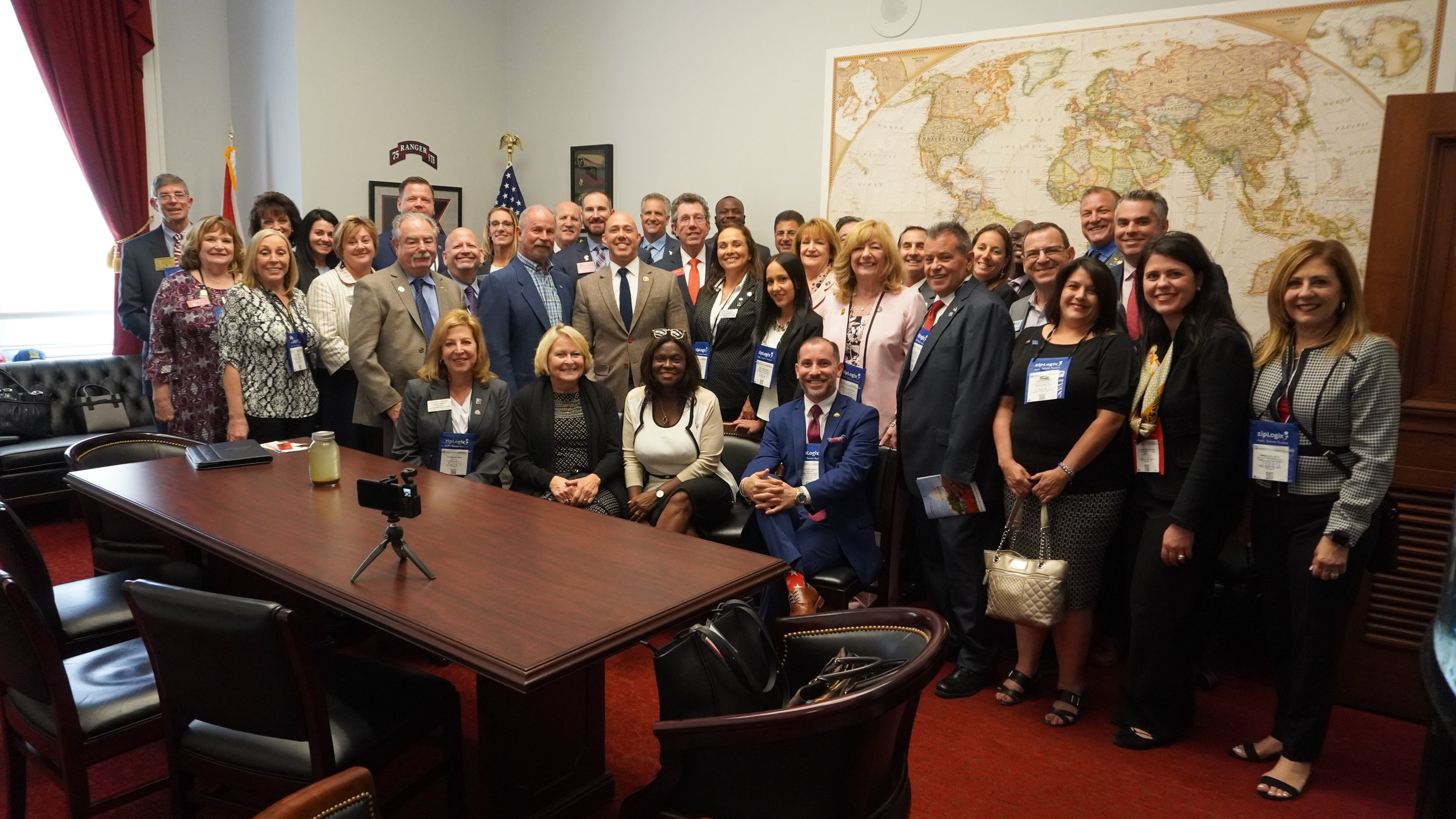 Realtors® from South Florida meet with Congressman Brian Mast (R-FL18)  Photo Credit: Carlos Melendez
