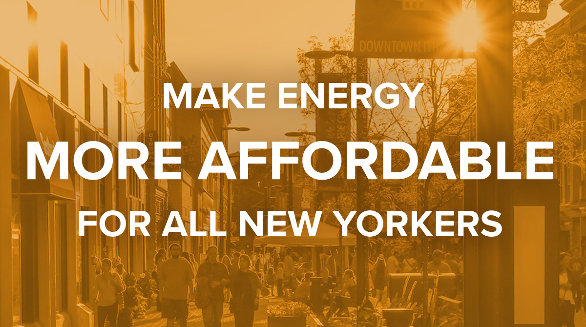 Make Energy More Affordable for All New Yorkers